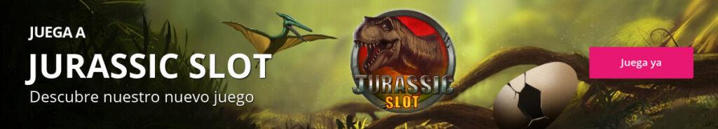 Descubre el genoma de los dinosaurios en 'Jurassic Slot'