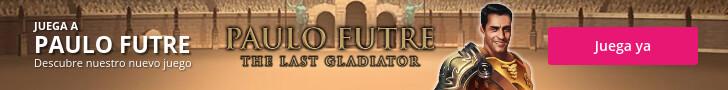 Juega ya a Paulo Futre Last Gladiator Tragaperras de Wanabet