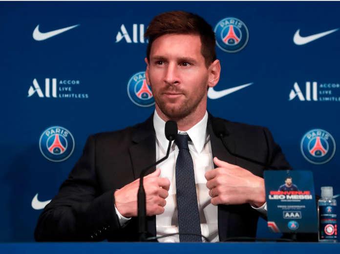Messi firma PSG