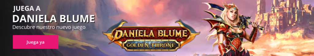 Jugar a Daniela Blume Golden Throne | Tragaperras online MGA | Wanabet