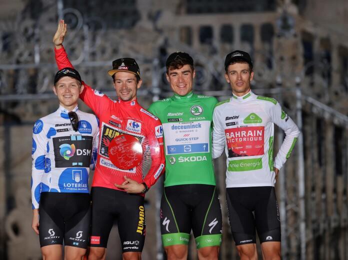 Primoz Roglic gana su tercera Vuelta a España consecutiva