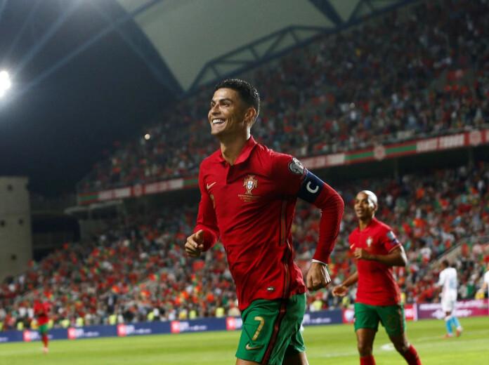 Clasificación Europea. Cristiano Ronaldo, jugador con más partidos con la selección.