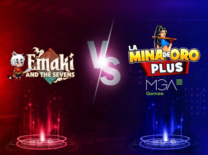 Emaki and The Sevens vs Mina de Oro Plus: Batalla de slots. Cuartos de final.