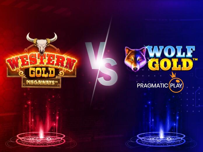 Western Gold Megaways vs Wolf Gold: Cuartos de final Batalla de Slots
